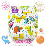 Rellenable Milovia Cool Dinos Coolmax