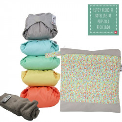 Pack 5 Pop-In Bambú colores pastel V2